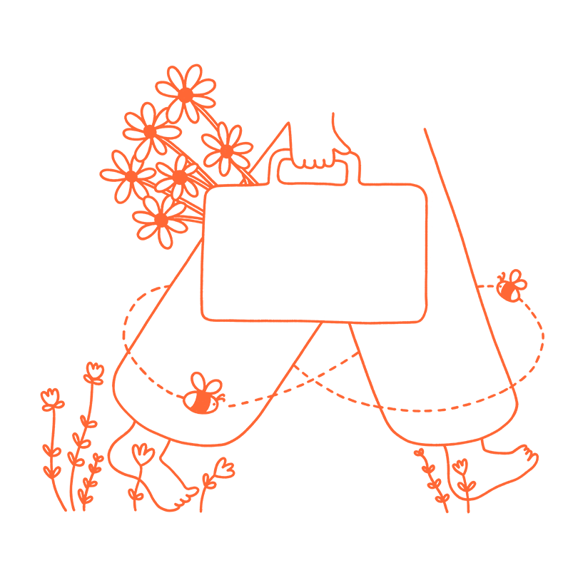 Kearney Group Ethos Walking Lightly In The World Orange